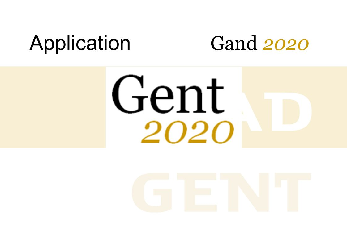 Application Gand 2020