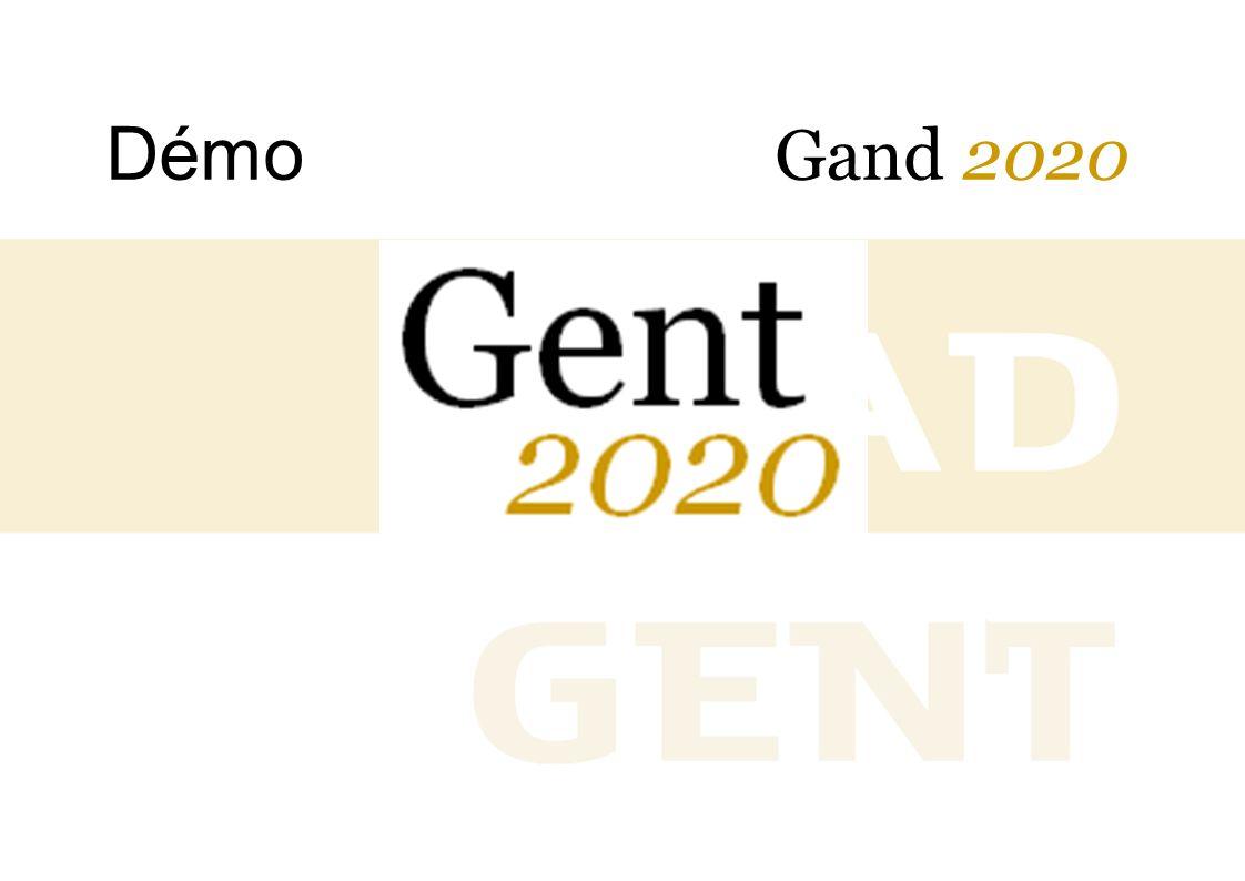 Démo Gand 2020