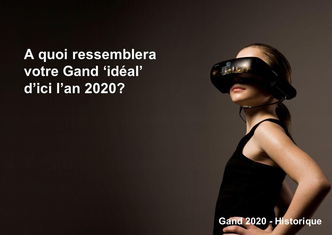 A quoi ressemblera votre Gand 'idéal' d'ici l'an 2020