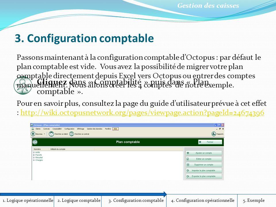 3. Configuration comptable