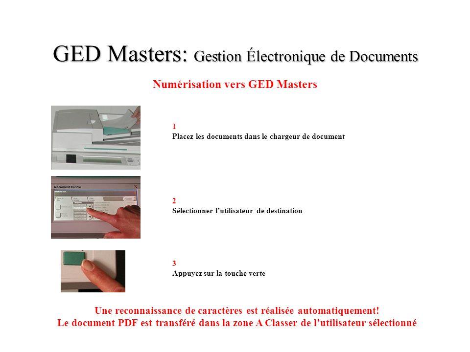 GED Masters: Gestion Électronique de Documents
