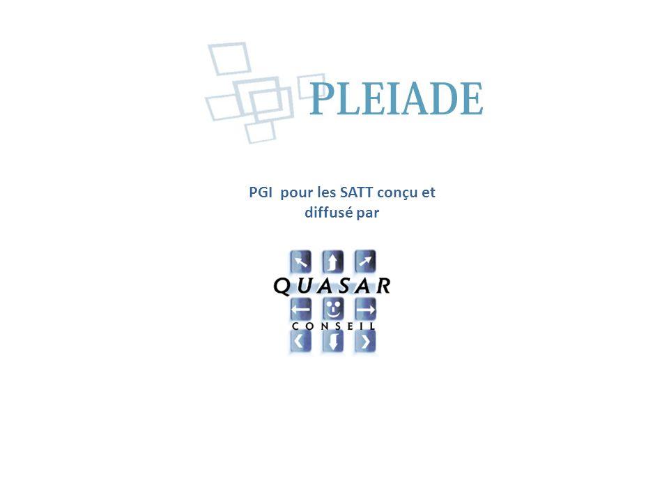 PGI pour les SATT conçu et diffusé par