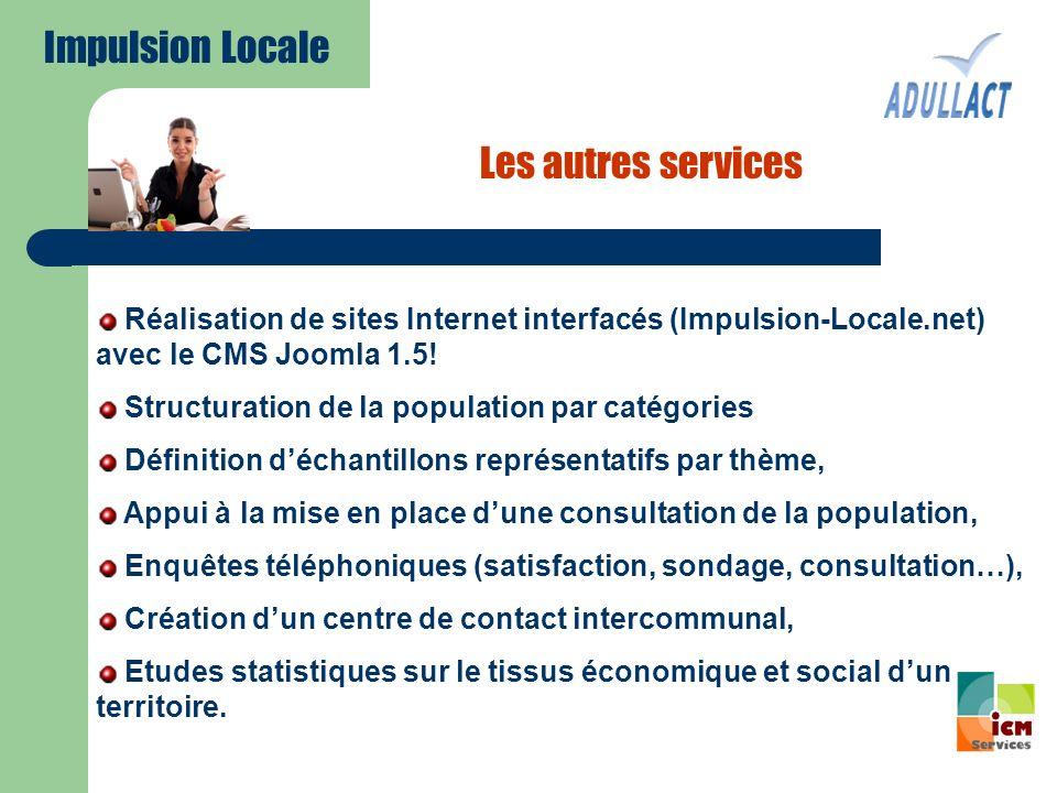 Impulsion Locale Les autres services