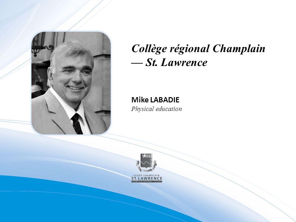 Collège régional Champlain — St. Lawrence