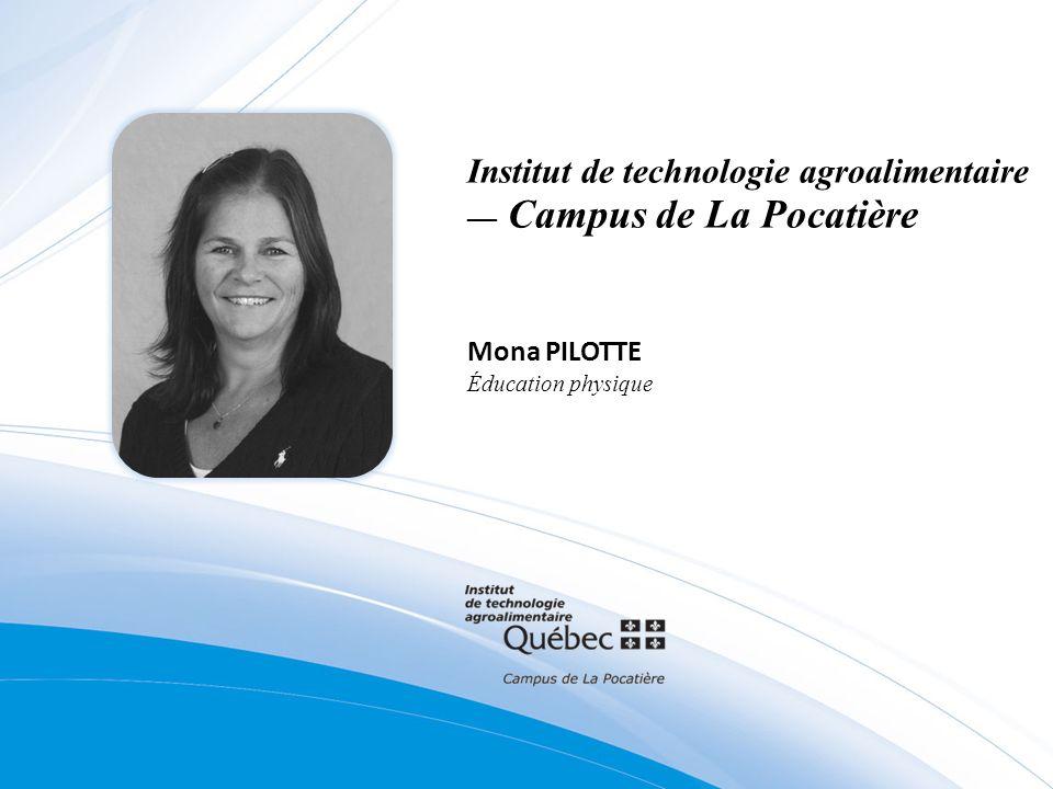 Institut de technologie agroalimentaire — Campus de La Pocatière