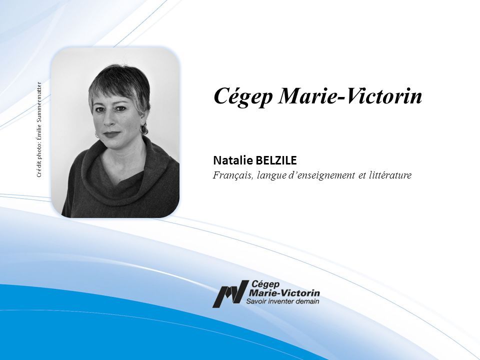 Cégep Marie-Victorin Natalie BELZILE