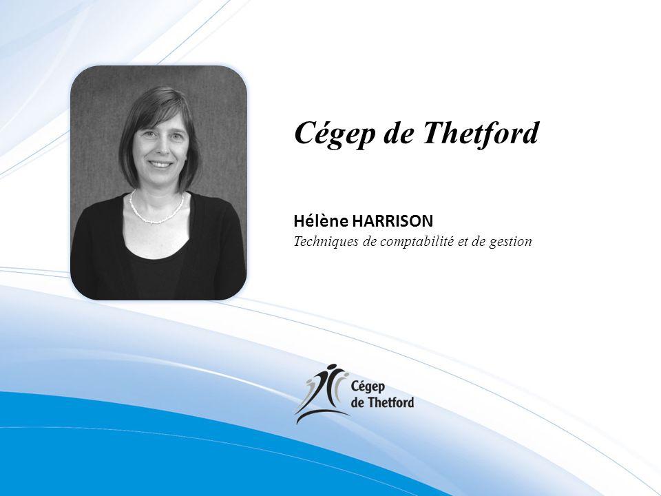Cégep de Thetford Hélène HARRISON