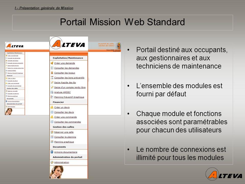 I – Présentation générale de Mission