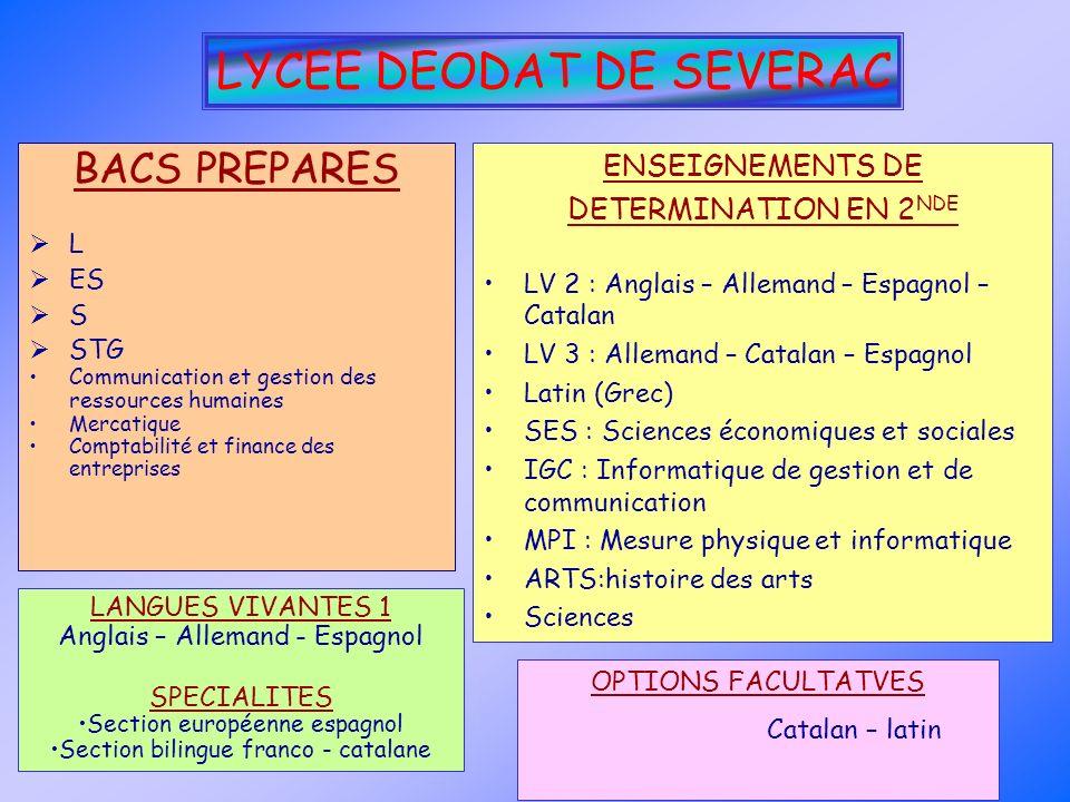 LYCEE DEODAT DE SEVERAC
