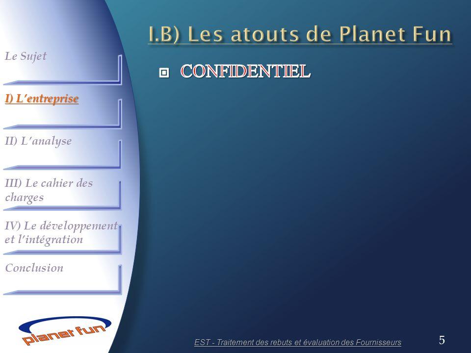 I.B) Les atouts de Planet Fun