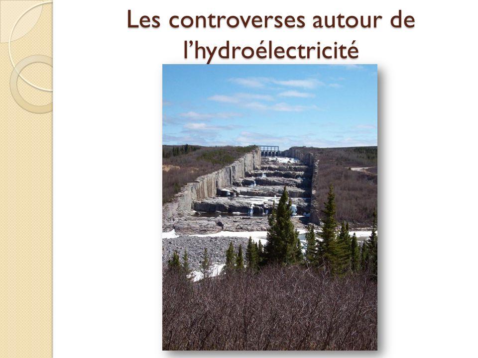 Les controverses autour de l'hydroélectricité