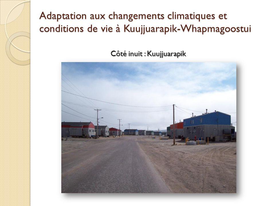 Côté inuit : Kuujjuarapik