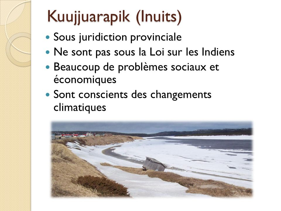 Kuujjuarapik (Inuits)