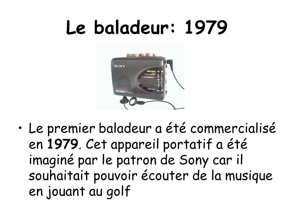 Le baladeur: 1979