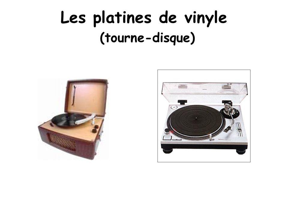 Les platines de vinyle (tourne-disque)