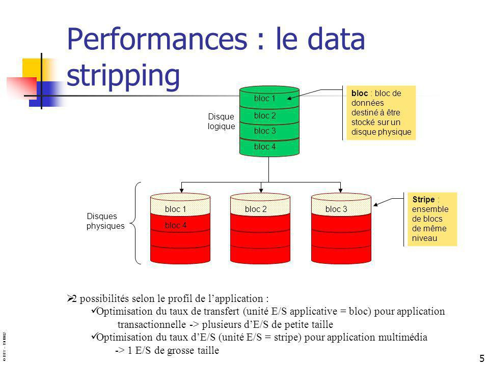 Performances : le data stripping