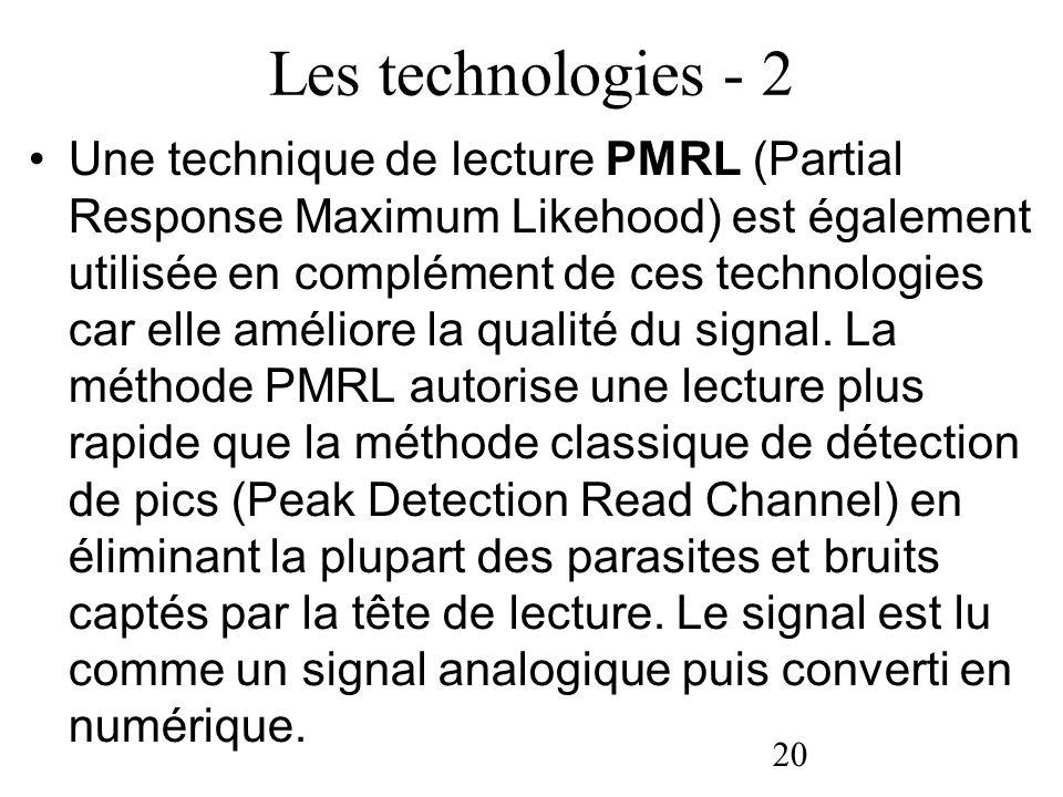 Les technologies - 2
