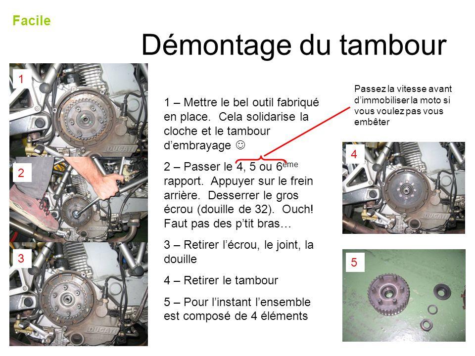Démontage du tambour Facile 1