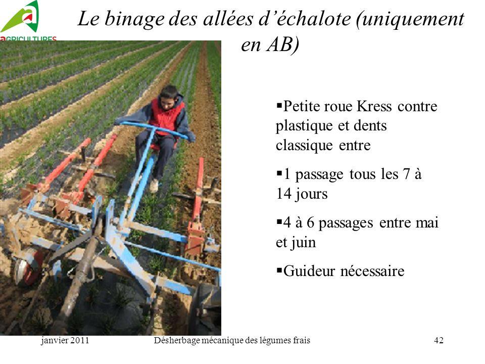 Techniques economes en produits phytosanitaires ppt - Desherbage mecanique des allees ...