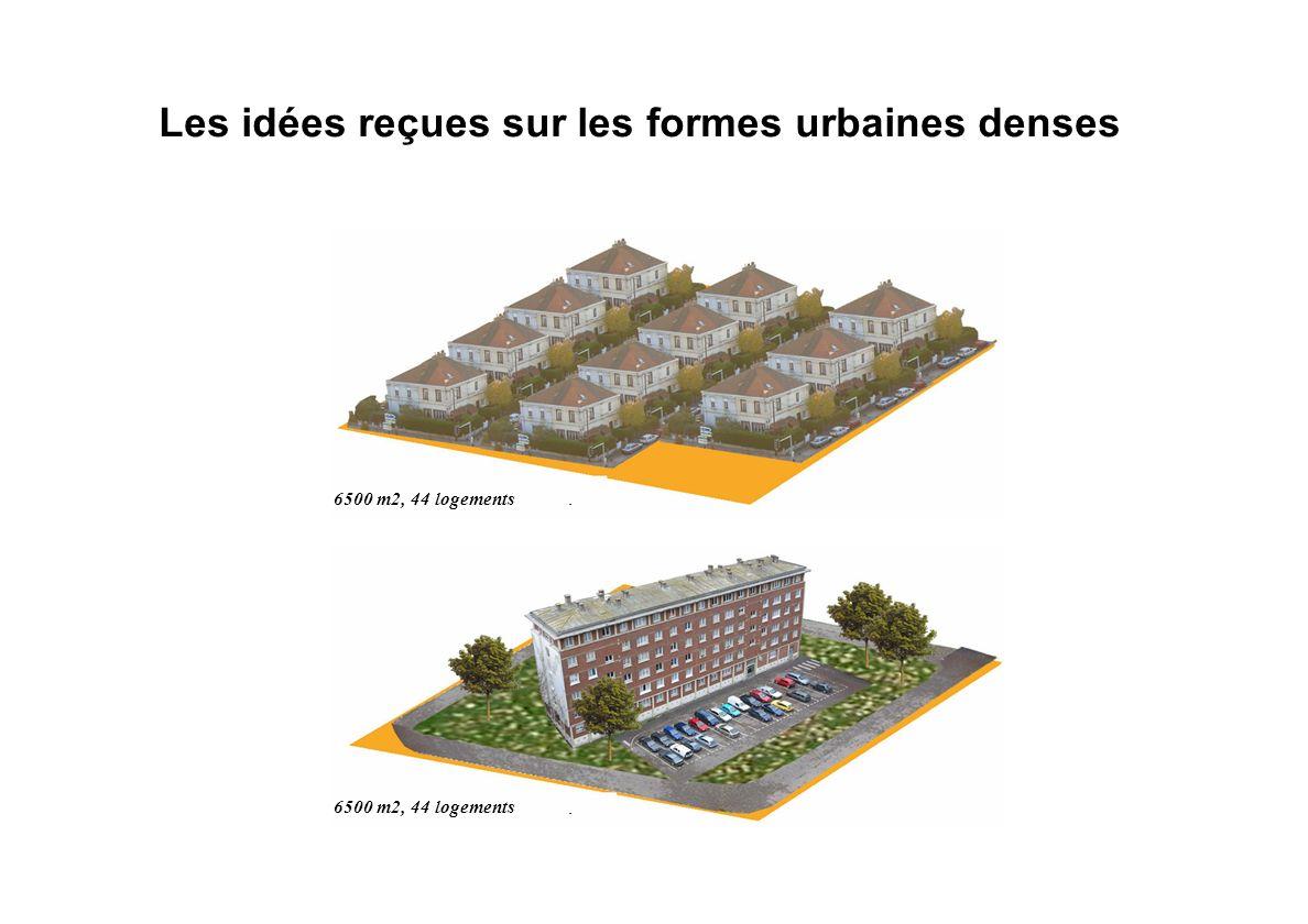 Les idées reçues sur les formes urbaines denses