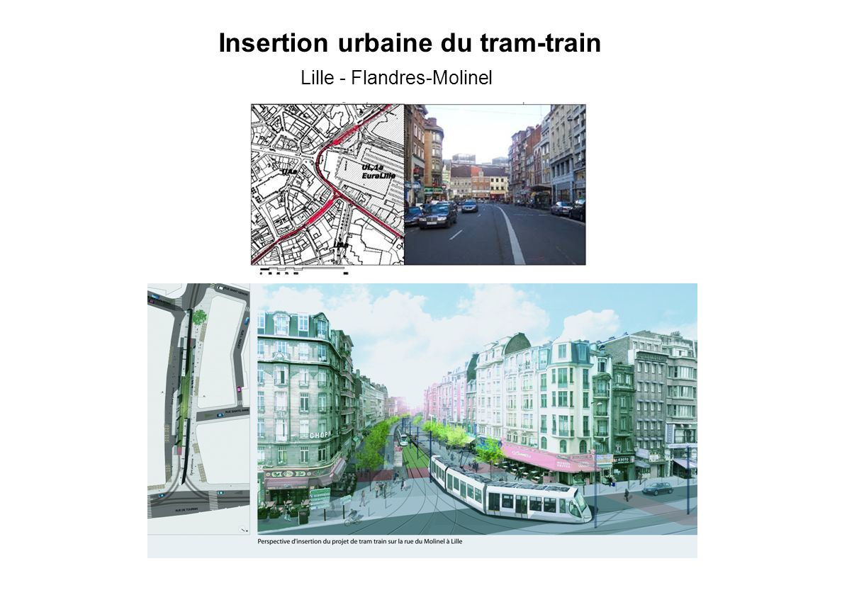 Insertion urbaine du tram-train