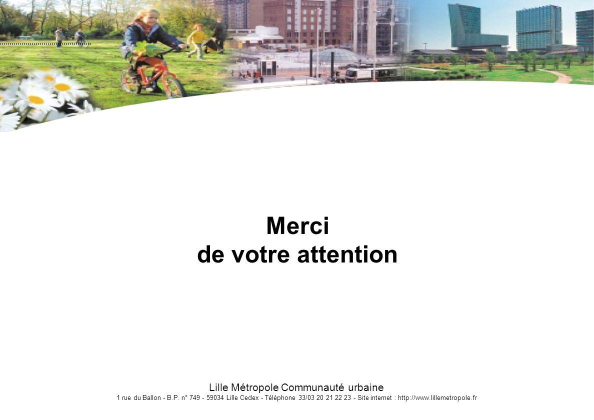 Lille Métropole Communauté urbaine