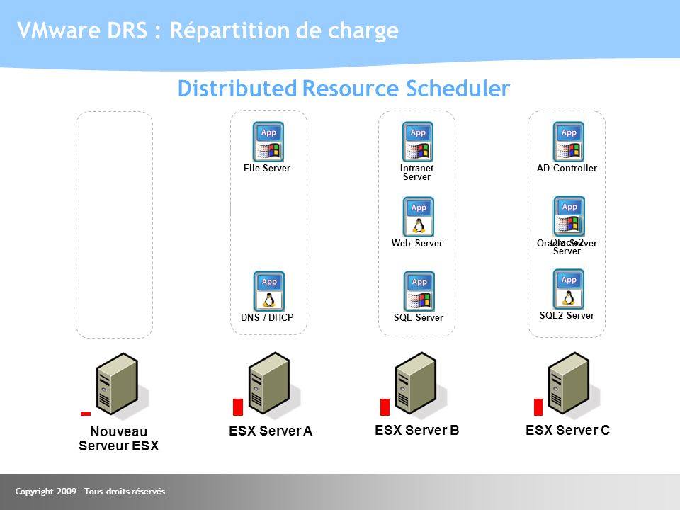 Distributed Resource Scheduler