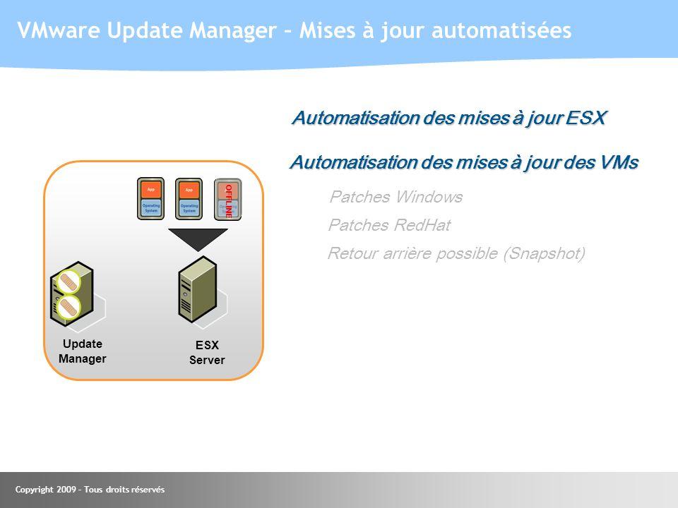 VMware Update Manager – Mises à jour automatisées