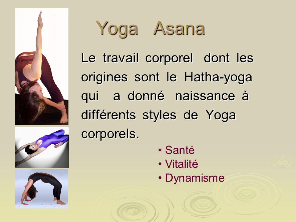 Yoga Asana Le travail corporel dont les origines sont le Hatha-yoga