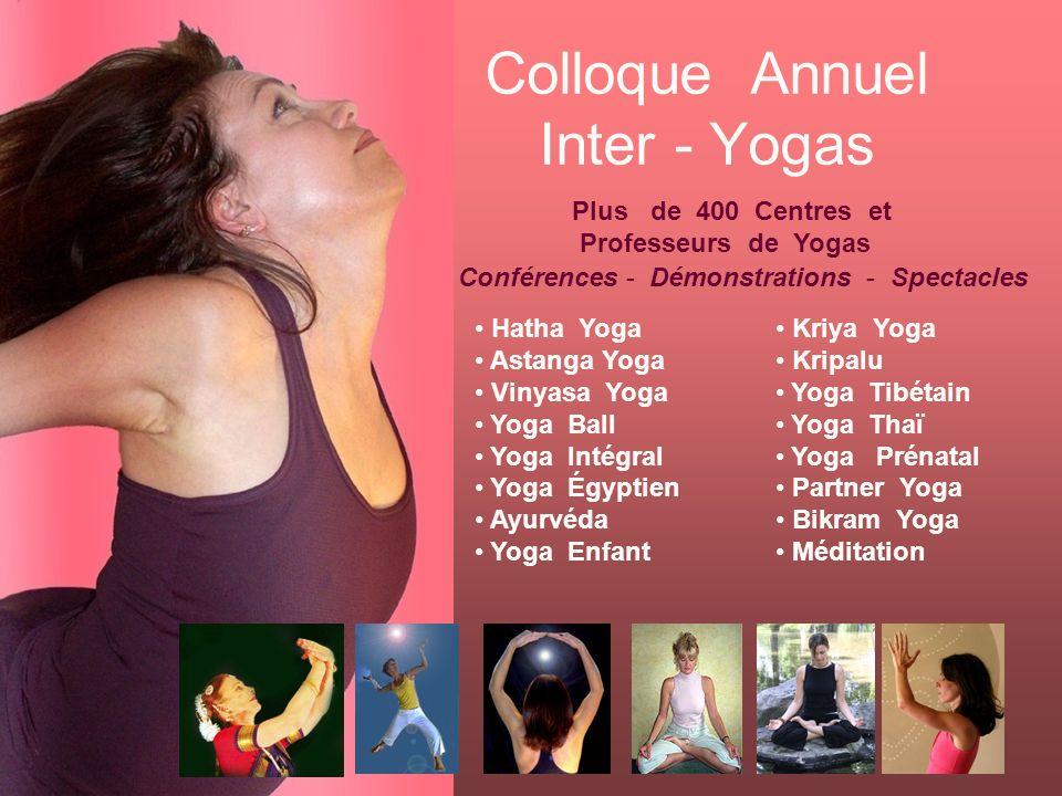 Colloque Annuel Inter - Yogas