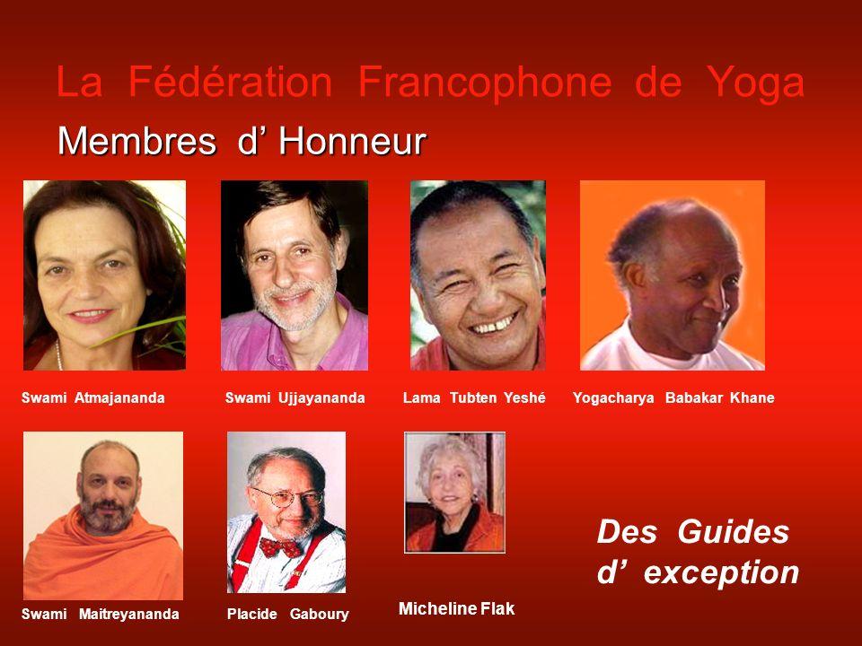 La Fédération Francophone de Yoga