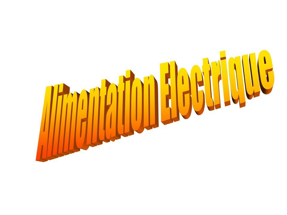 Alimentation Electrique