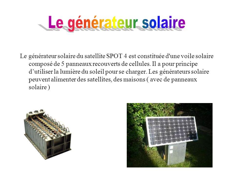 Le générateur solaire