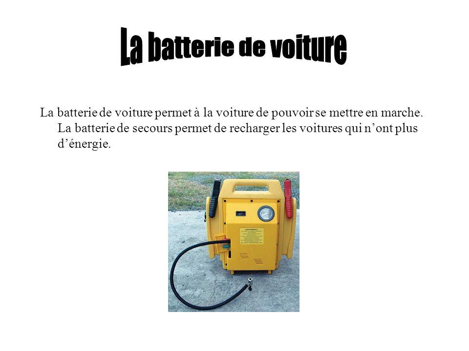 La batterie de voiture