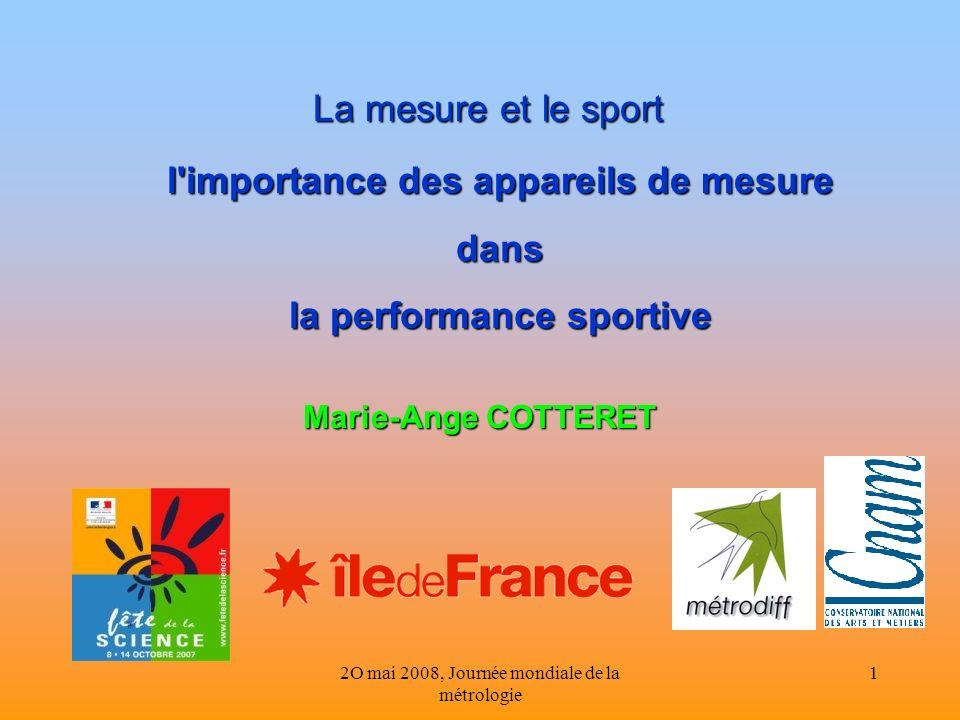l importance des appareils de mesure la performance sportive