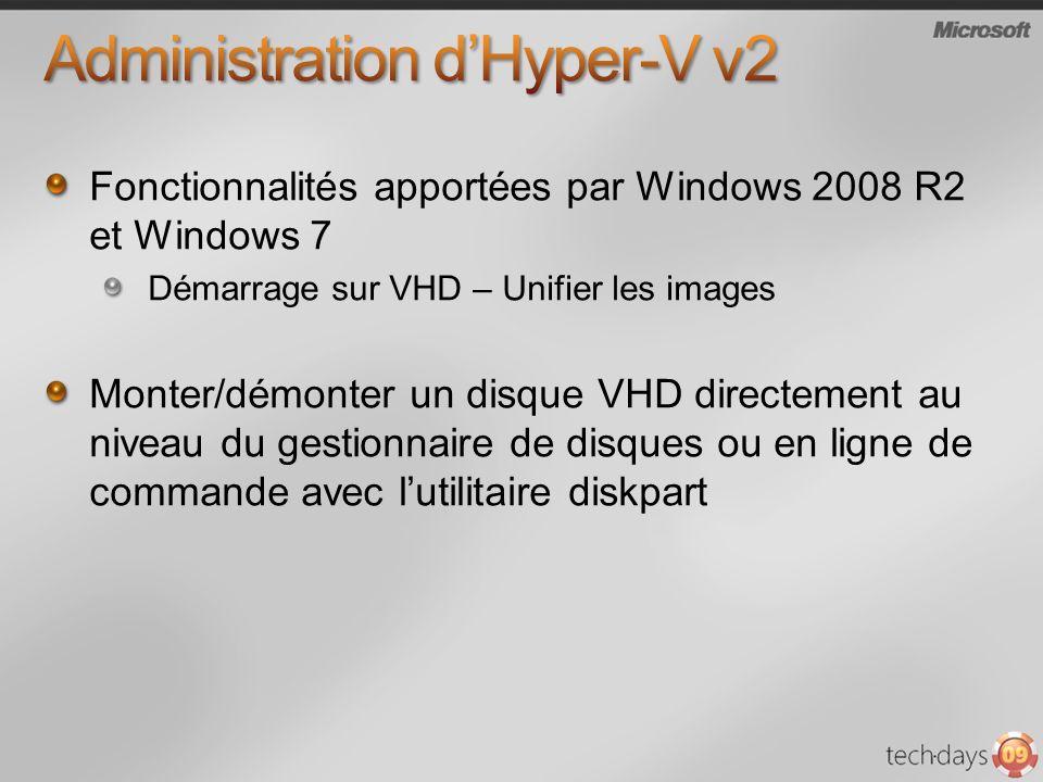 Administration d'Hyper-V v2