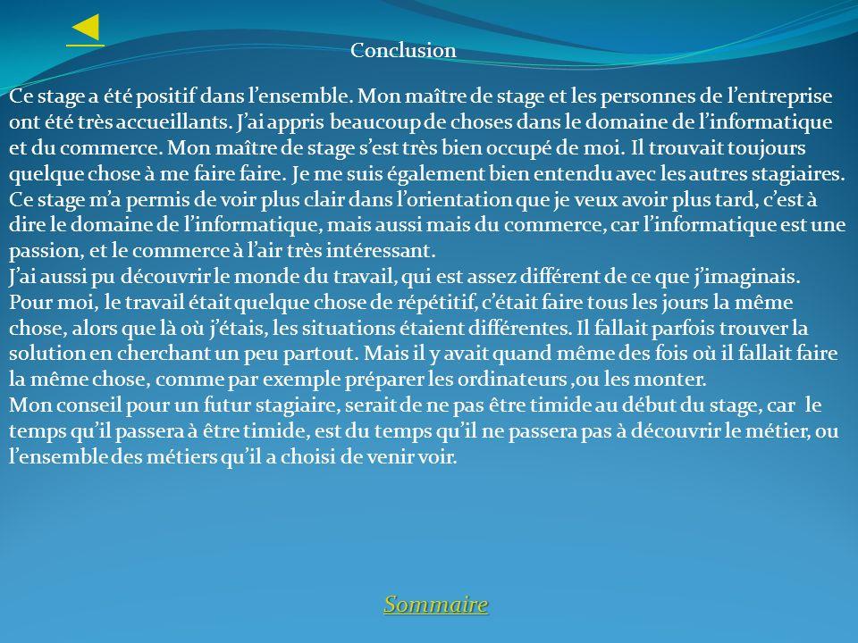 ◄ Conclusion.