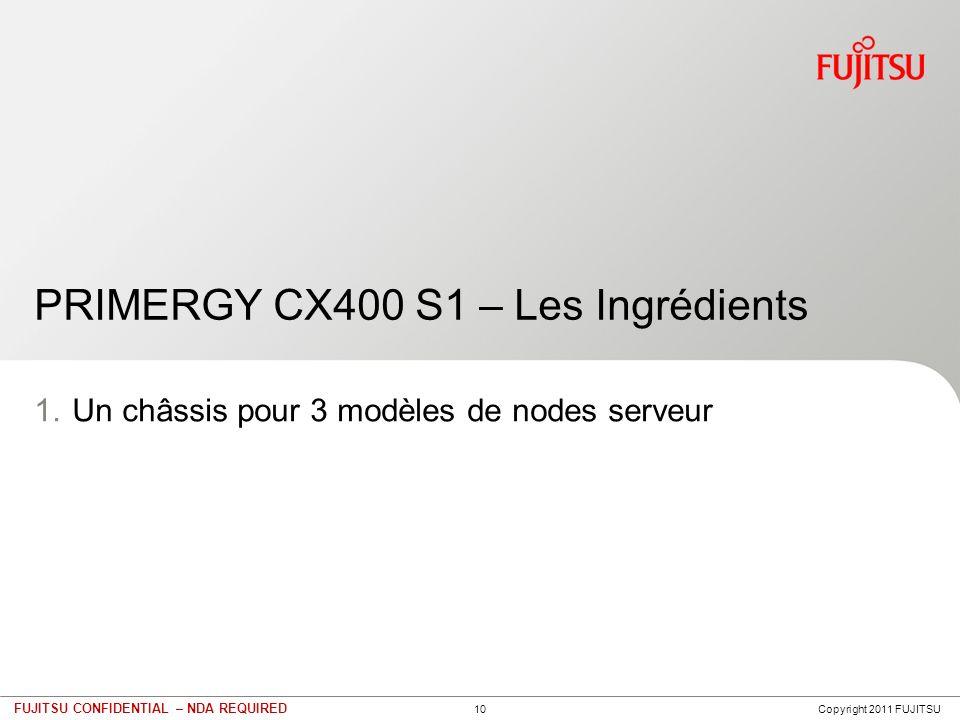 PRIMERGY CX400 – généralités