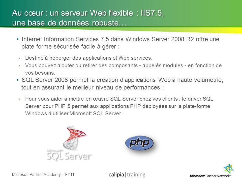 Au cœur : un serveur Web flexible : IIS7