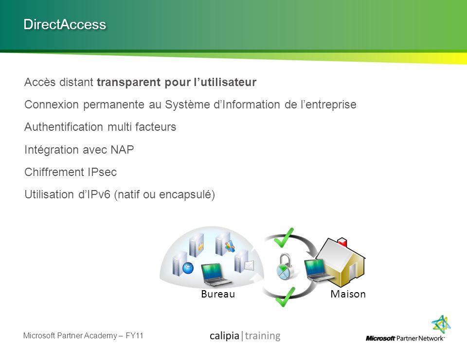 DirectAccess Accès distant transparent pour l'utilisateur