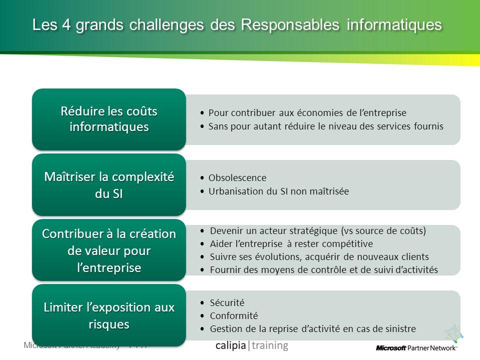 Les 4 grands challenges des Responsables informatiques
