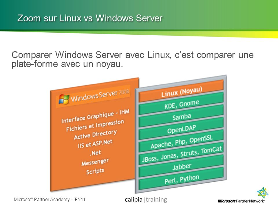 Zoom sur Linux vs Windows Server