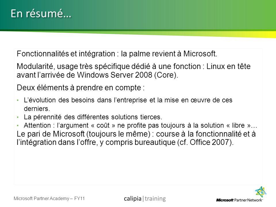 En résumé… Fonctionnalités et intégration : la palme revient à Microsoft.