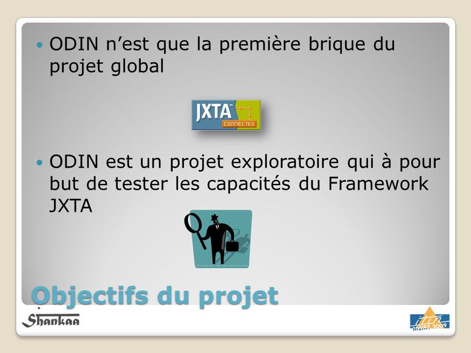 Objectifs du projet ODIN n'est que la première brique du projet global
