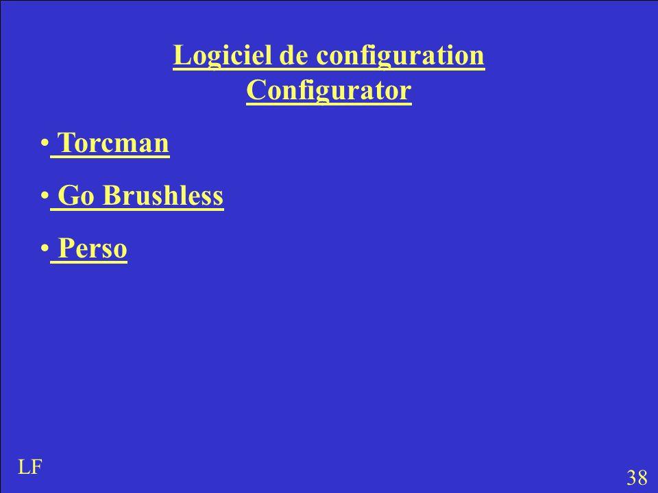 Logiciel de configuration