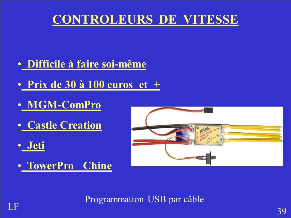 CONTROLEURS DE VITESSE