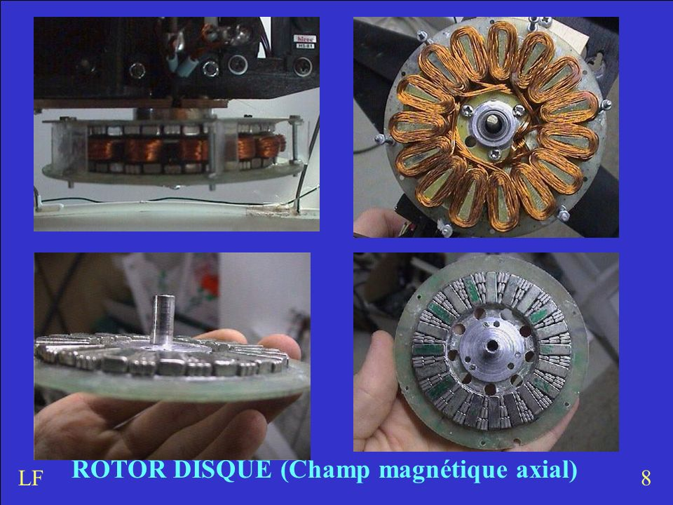 ROTOR DISQUE (Champ magnétique axial)