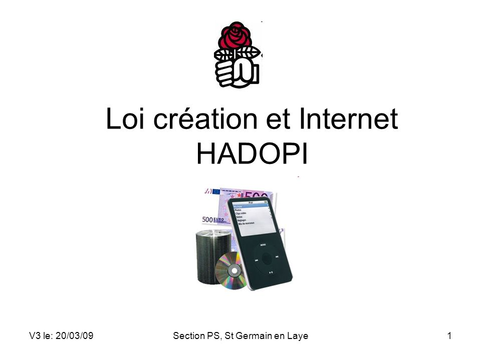 Loi création et Internet HADOPI