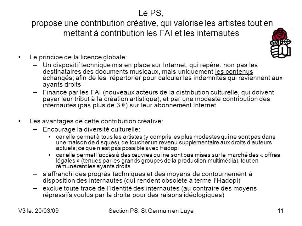 Section PS, St Germain en Laye