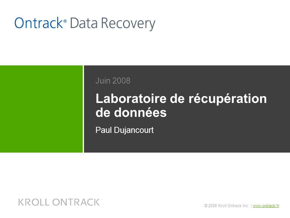 Laboratoire de récupération de données